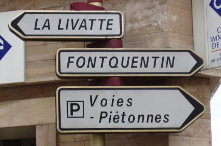Do you know the way to Fontquentin?